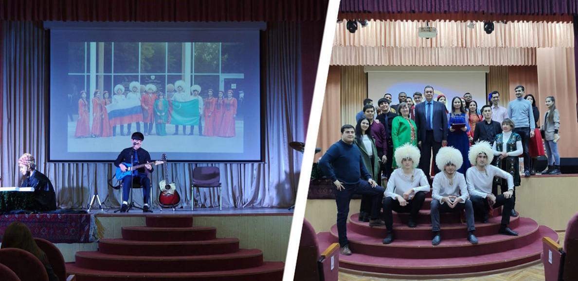 Astrahanda Türkmenistanyň Bitaraplygynyň 25 ýyllygy konsert bilen garşylanýar