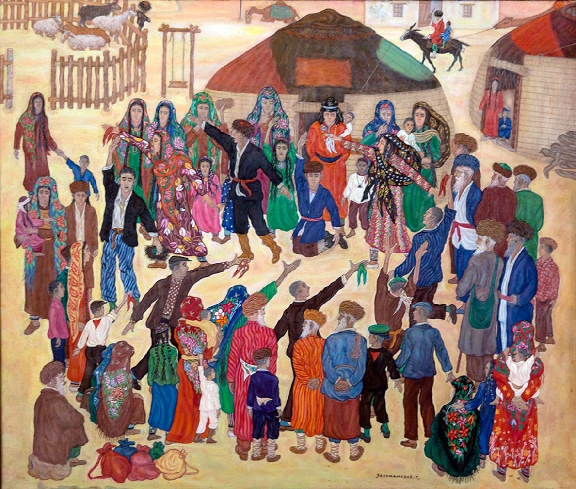 Watany goramak  - hormat-sarpaly kär